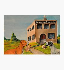 Unkind Pit Bulls~Sarcastic~Love~Giving~Dog Photographic Print