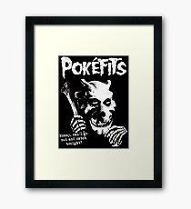 Pokefits Framed Print