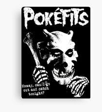 Pokefits Canvas Print