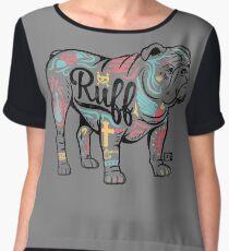 Ruff Women's Chiffon Top
