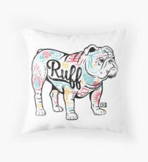 Ruff Throw Pillow