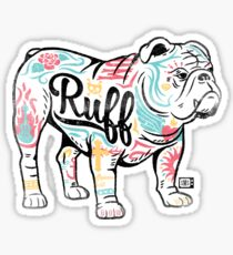 Ruff Sticker