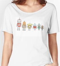 Cute Robots Women's Relaxed Fit T-Shirt