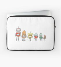 Cute Robots Laptop Sleeve