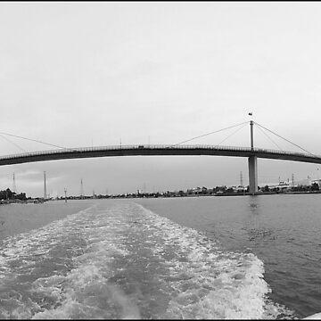 Westgate Bridge by daverach1