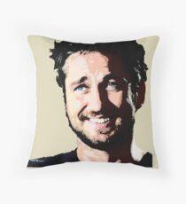 Gerard Butler coloured Throw Pillow