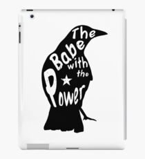 Crow Babe Power Black iPad Case/Skin
