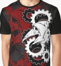 Plague Doctor Gears Remix Graphic T-Shirt