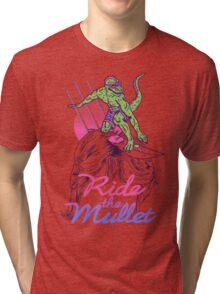 Mullet Surfer Tri-blend T-Shirt