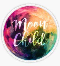 Moon Child  Transparent Sticker