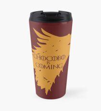 Chocobo is Coming Travel Mug