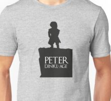 Peter having a Dinkl-age Unisex T-Shirt