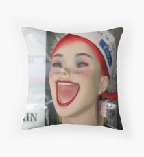 Hey Tote Throw Pillow