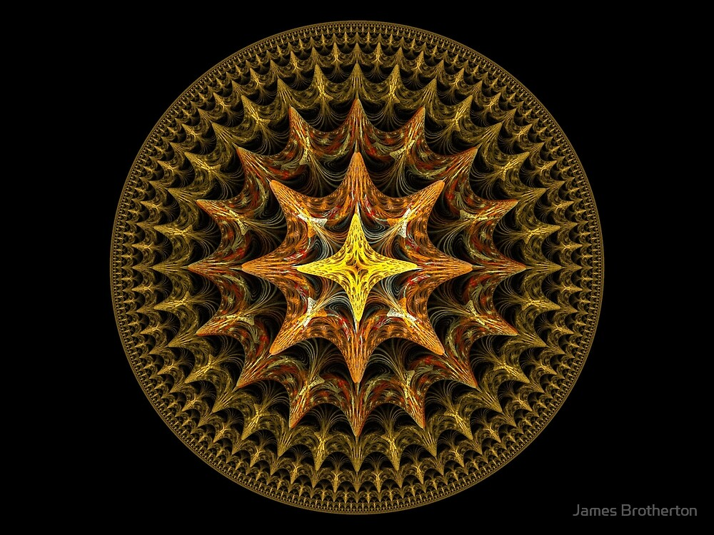 Gold Medallion by James Brotherton