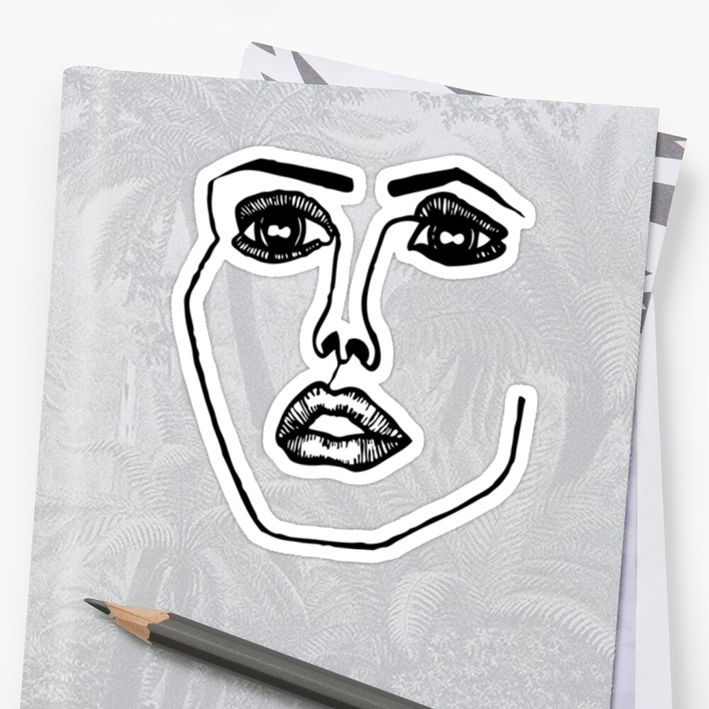 quotdisclosure facequot stickers by girlofthevoid redbubble