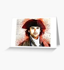 """Wheal Leisure"" ~ Ross Poldark Greeting Card"