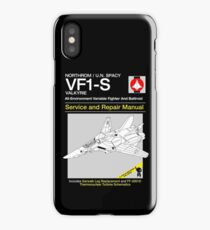 VF-1 Service and Repair iPhone Case/Skin