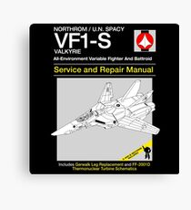 VF-1 Service and Repair Canvas Print