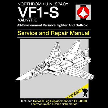 VF-1 Service and Repair by Crocktees