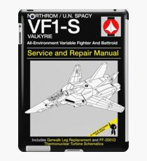 VF-1 Service and Repair iPad Case/Skin