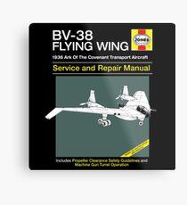 BV-38 Raiders Service and Repair Manual Metal Print