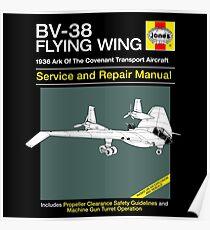 BV-38 Raiders Service and Repair Manual Poster
