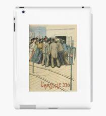 Les Marionnettes de la Vie 1890 - L'Article 330 iPad Case/Skin
