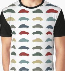 Vintage VW Beetle 60's original car colours Graphic T-Shirt