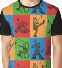 Britcom Brilliance - Brent, Fawlty, Jack & Trotter Graphic T-Shirt