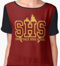 Sunnydale High School Women's Chiffon Top