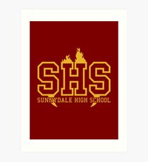 Sunnydale High School Art Print