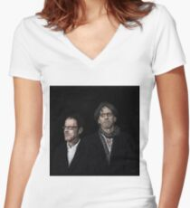 COEN BROTHERS Women's Fitted V-Neck T-Shirt