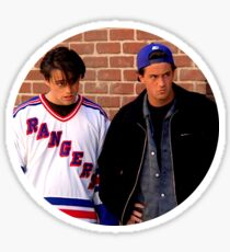 Friends TV Chandler Joey Sticker
