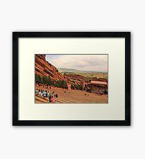 Red Rocks Amphitheatre Framed Print