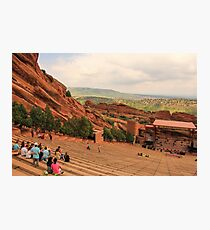 Red Rocks Amphitheatre Photographic Print