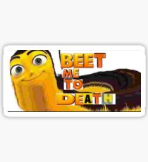 The Bee Movie Merch Sticker