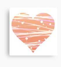 White Peach  Canvas Print