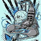SCORPION -BLUE by William Mendez