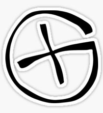 Geocache logo, symbol. Sticker