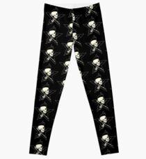 Rock-n-Roll Skull Leggings