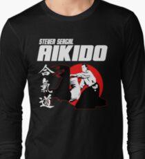 Camiseta de manga larga STEVEN SEAGAL AIKIDO ARTES MARCIALES JAPÓN KANJI 3d850ef6c2317