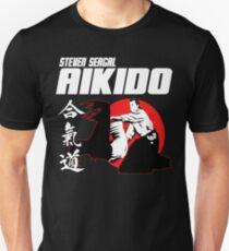 STEVEN SEAGAL AIKIDO MARTIAL ARTS JAPAN KANJI T-Shirt