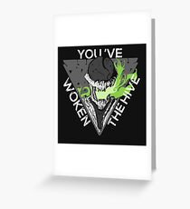 You've Woken The Hive Greeting Card