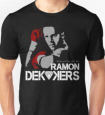 RIP RAMON DIAMOND DEKKERS DUTCH MUAY THAI CHAMPION LEGEND  Slim Fit T-Shirt