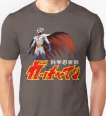 TATSUNOKO JAPAN CLASSIC RETRO CARTOON ANIME SERIES GATCHAMAN G-FORCE BATTLE OF THE PLANETS SCIENCE NINJA TEAM  Unisex T-Shirt