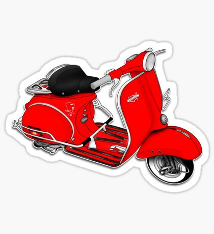 Scooter T-shirts Art: 1961 Allstate Scooter Design Sticker
