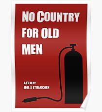 No Country For Old Men film poster Poster