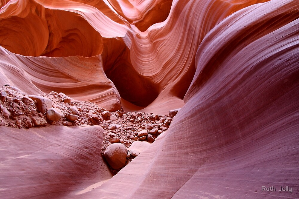Lights and rocks in the canyon by Ruth  Jolly