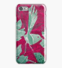 Hot Pink Paradise iPhone Case/Skin