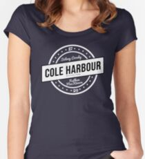 Cole Harbour White Women's Fitted Scoop T-Shirt